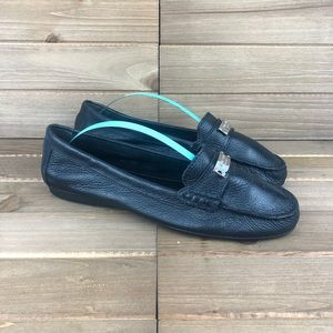 Coach Fredrica Leather Loafer 7